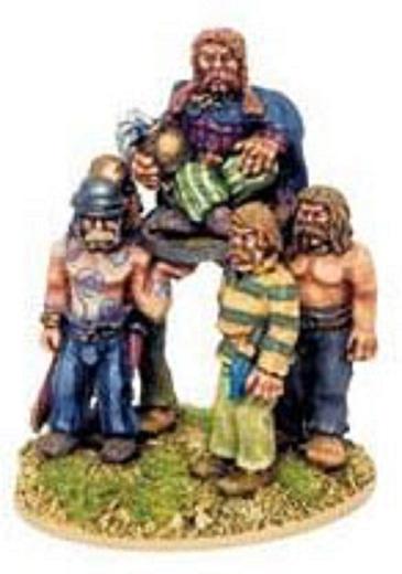 Tenues et campements saxons/normands du haut moyen- Age au XIIIème siècle Gaul10