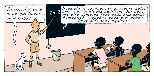 Une carte en relief de l'âge du bronze Tintin10