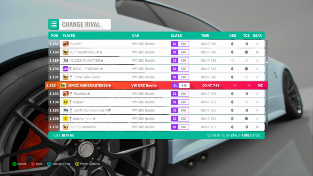 FH4 Time Attack | Cross Country Rivals - Aerodrome Cross Country Circuit Img_d510