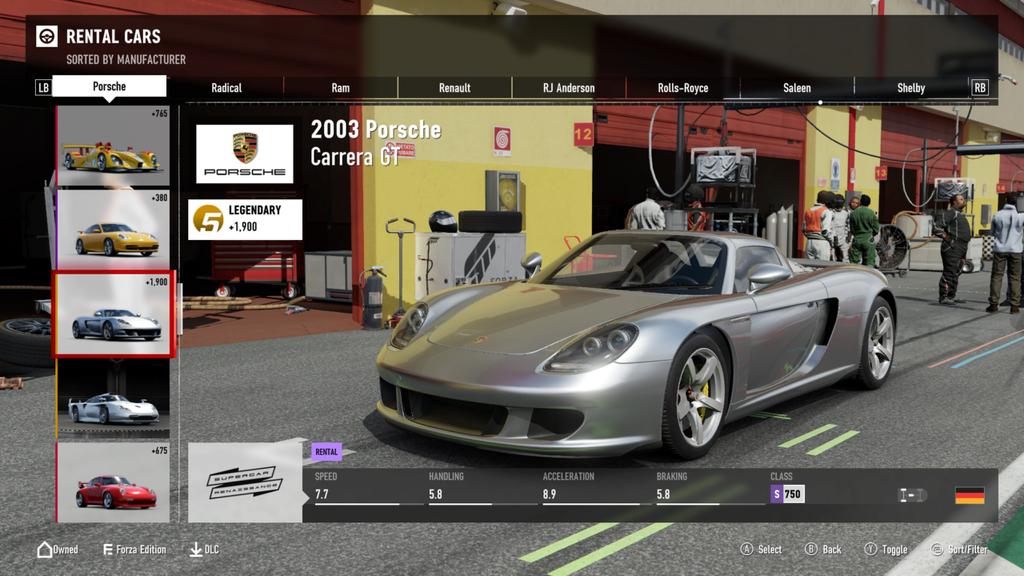 FM7 Time Attack | Stock Car Challenge #23 (2003 Porsche Carrera GT) Mnmcar11