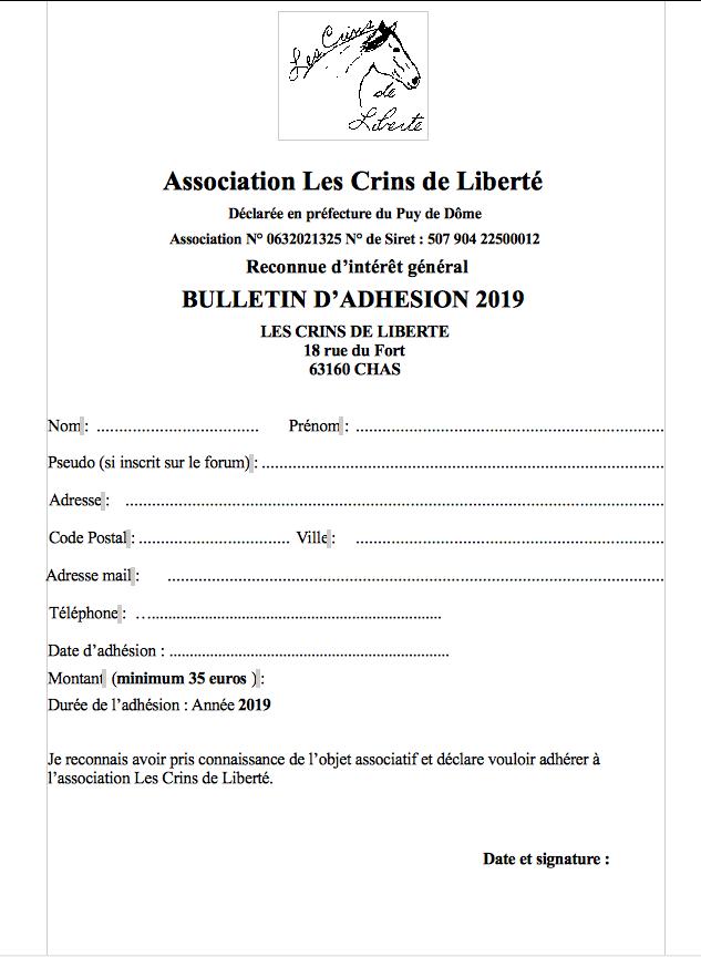 Bulletin d'adhésion 2019 et bulletin de parrainage en format papier - Page 2 Bullet10