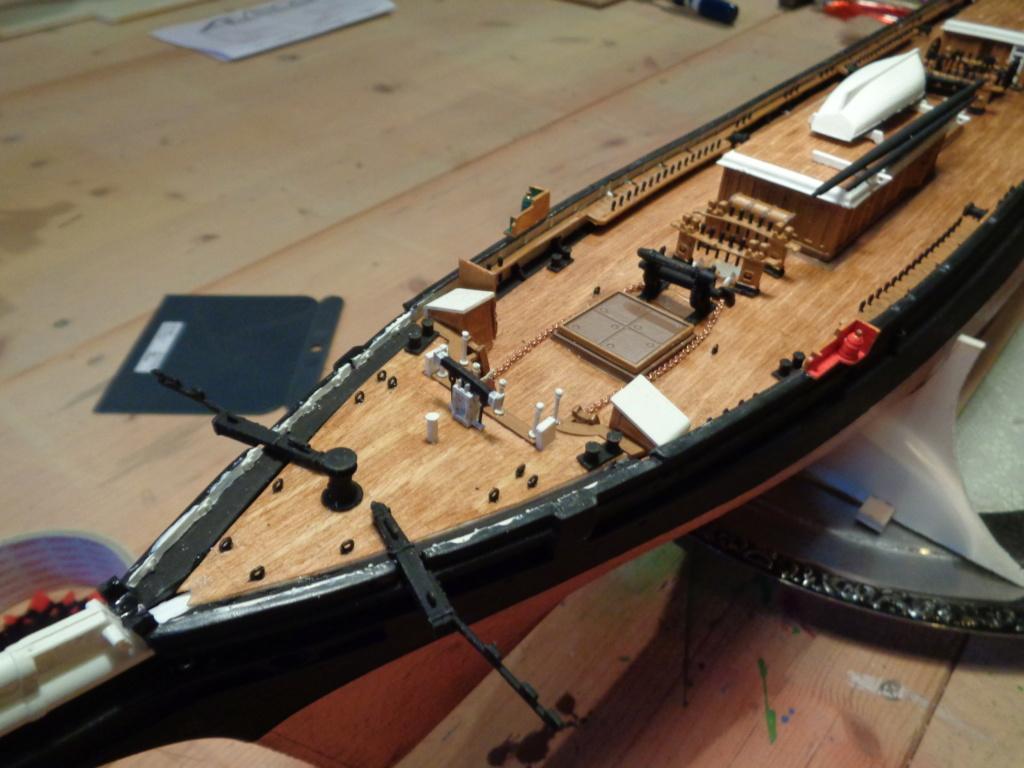 Cutty Sark von Revell 1:96 gebaut von Maat Tom - Seite 2 Dsc06115