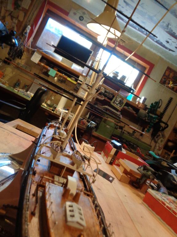 Cutty Sark von Revell 1:96 gebaut von Maat Tom - Seite 2 Dsc06128