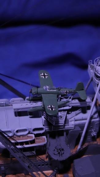 DKM Scharnhorst 1:200 gebaut von Maat Tom Img_6010