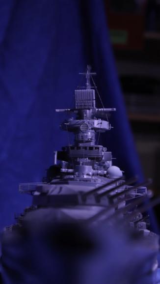 DKM Scharnhorst 1:200 gebaut von Maat Tom Img_6016