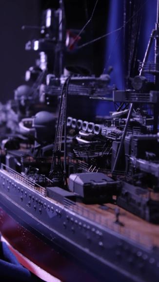 DKM Scharnhorst 1:200 gebaut von Maat Tom Img_6022