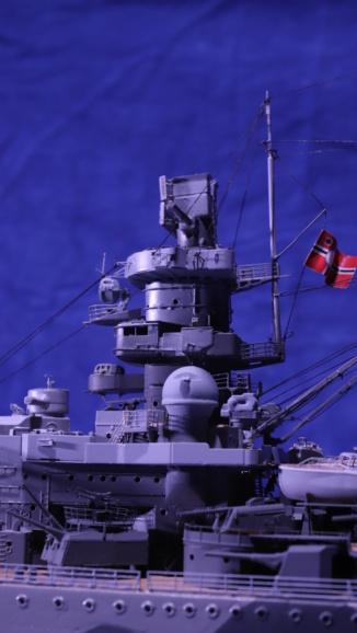 DKM Scharnhorst 1:200 gebaut von Maat Tom Img_6118