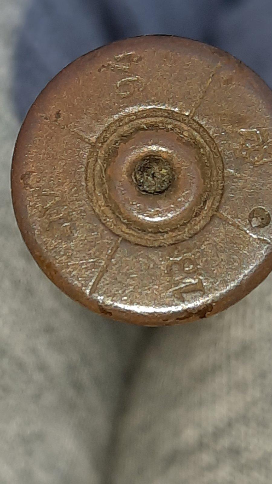 Cartouche marquage inconnu - origine Monténégro. Img-9c10