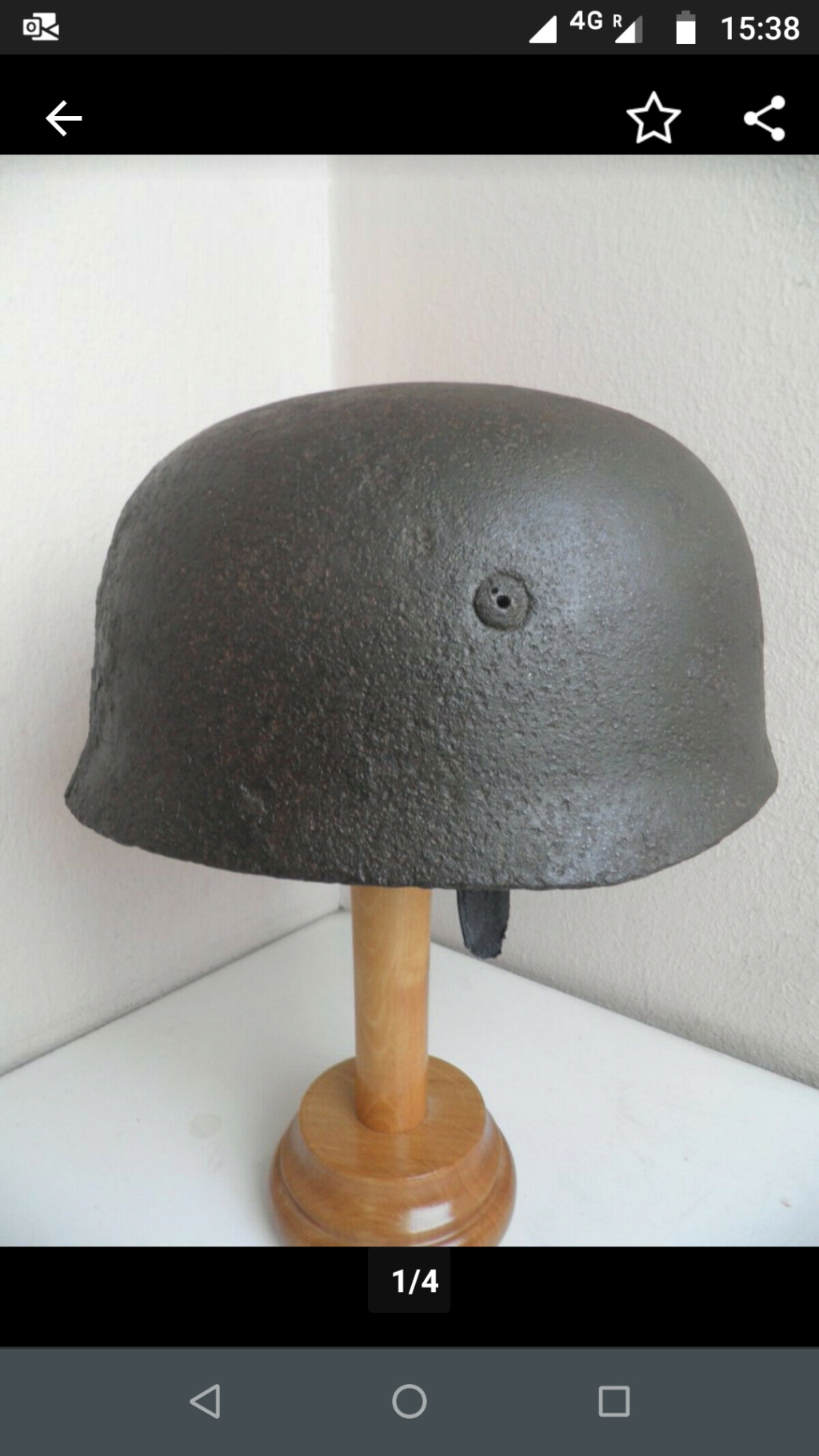 Casque para m38 allemand. Scree109
