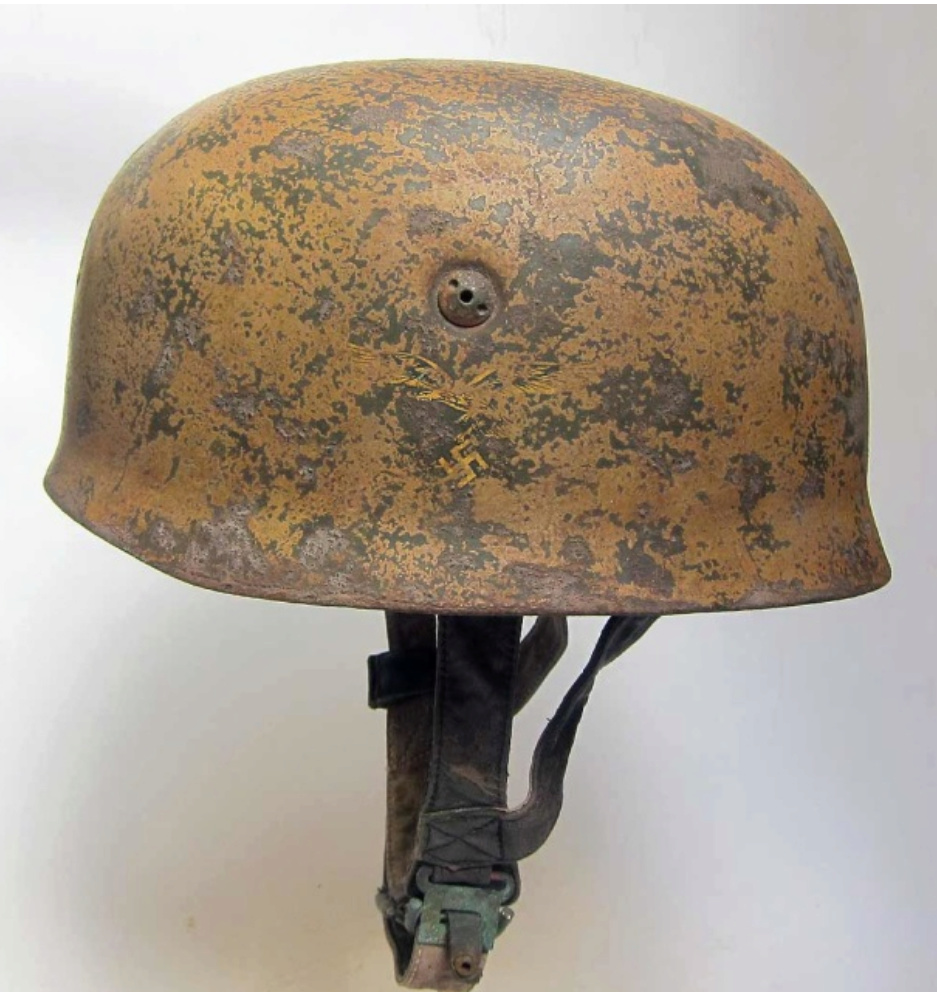 Casque Fallschirmjäger M38 camouflé Screen13