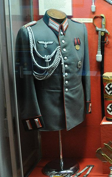 Vareuse officier allemand artillerie  Wehrma10