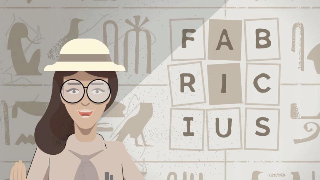 """Google lancia """"Fabricius"""", per decifrare i geroglifici Fabric10"""