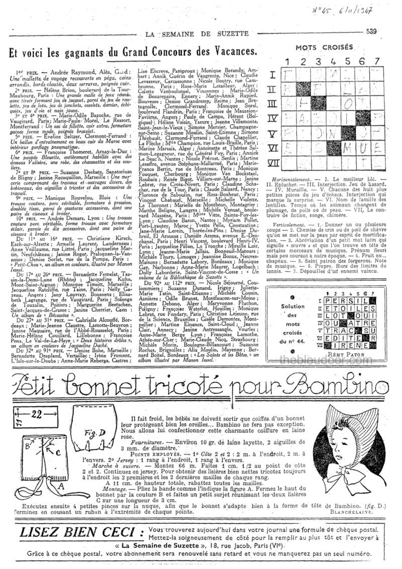 LE BONNET A DEUX POINTES DE BAMBINO 19474511
