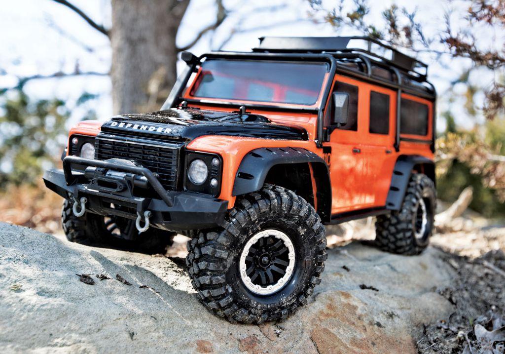 [In progress] KIT TRX-4 orange Def style Carros10