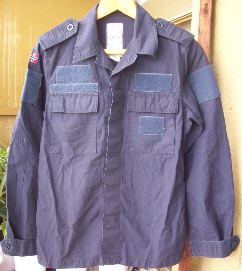 Norwegian Navy blue work jacket... What model? 01410