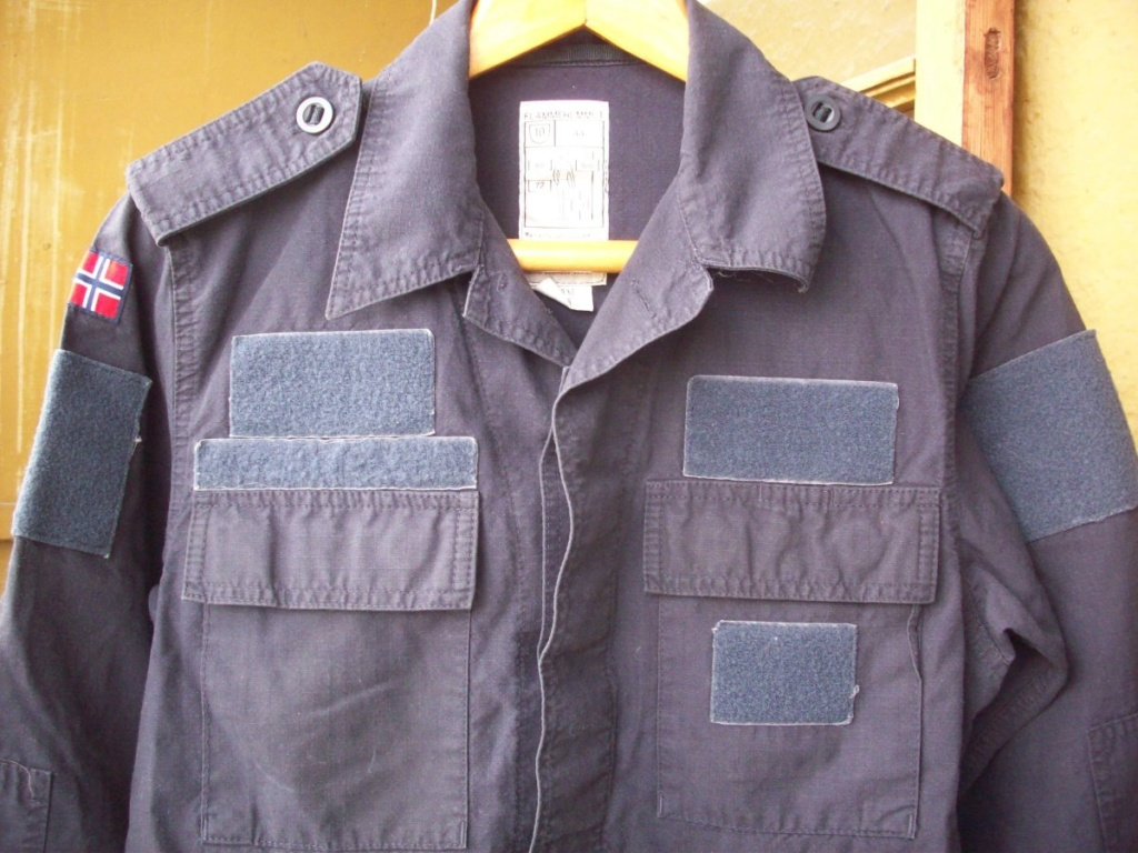 Norwegian Navy blue work jacket... What model? 01510