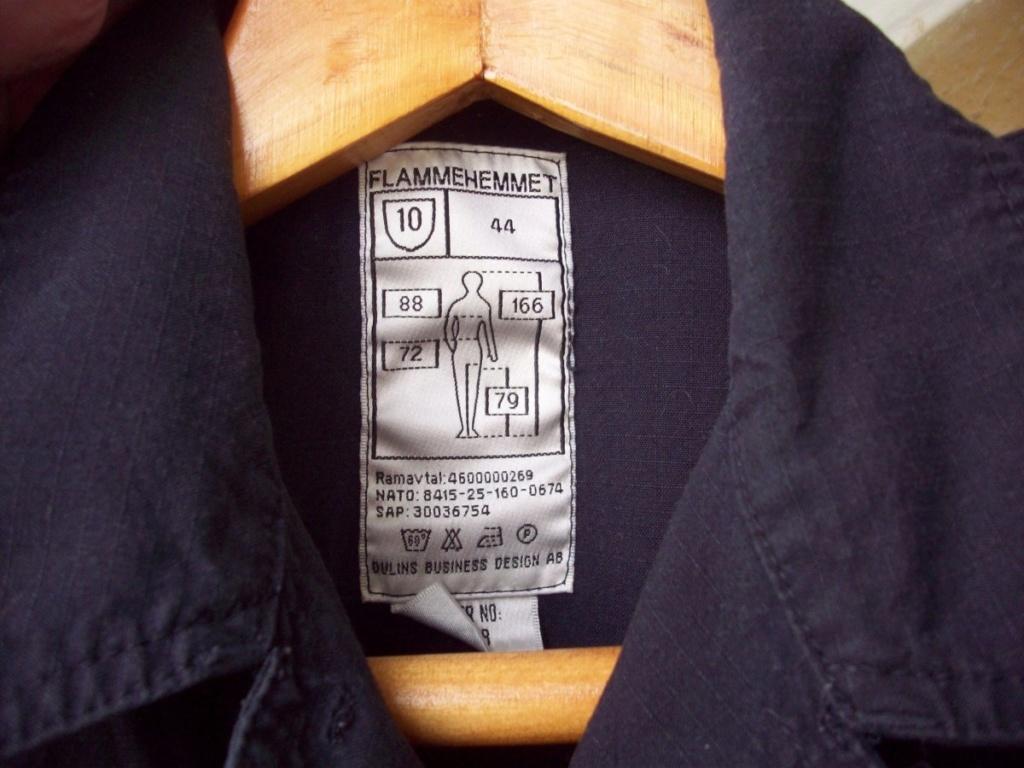 Norwegian Navy blue work jacket... What model? 01610