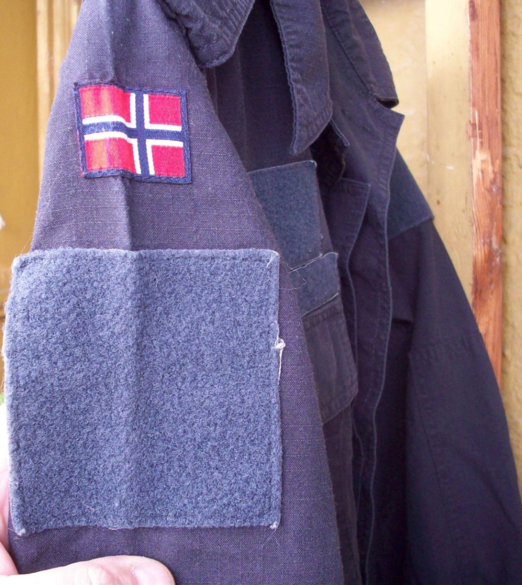 Norwegian Navy blue work jacket... What model? 01910