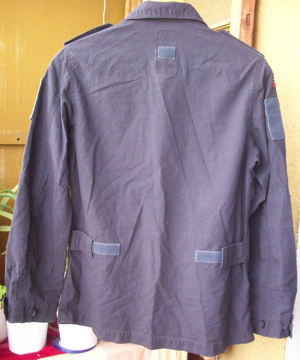 Norwegian Navy blue work jacket... What model? 02010