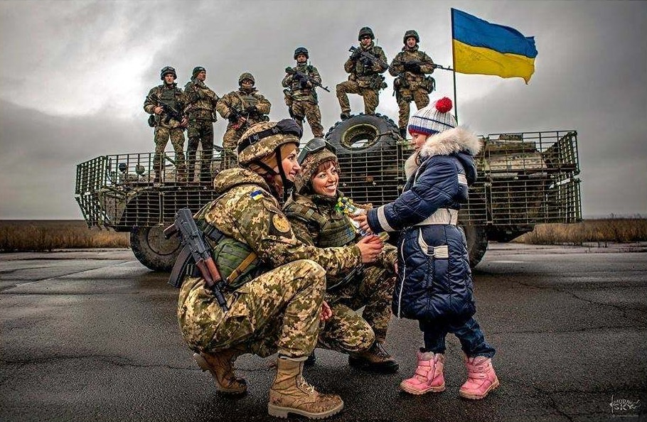 Modern Ukrainian uniform in photographs - Page 30 10416910