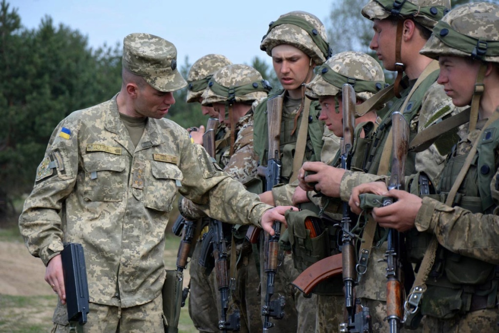 Modern Ukrainian uniform in photographs - Page 31 34591911