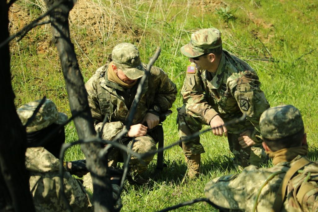 Modern Ukrainian uniform in photographs - Page 31 35234114