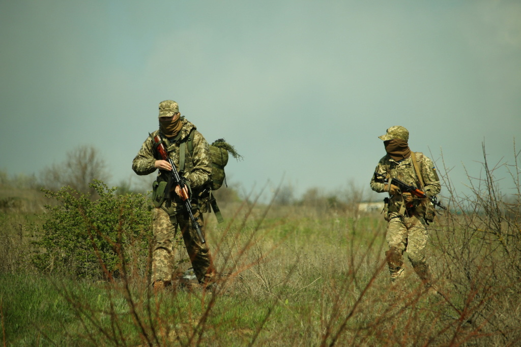 Modern Ukrainian uniform in photographs - Page 31 35234115
