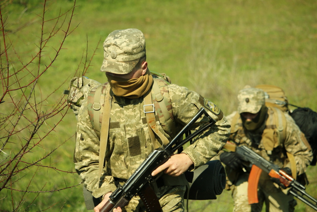 Modern Ukrainian uniform in photographs - Page 31 35234116