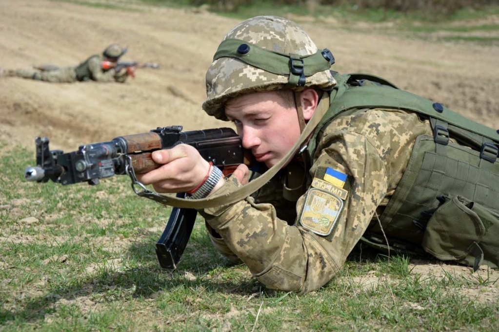 Modern Ukrainian uniform in photographs - Page 30 35361912