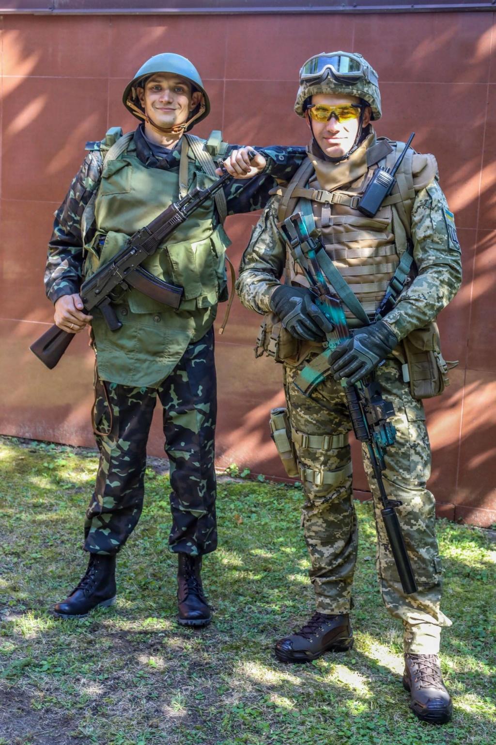Modern Ukrainian uniform in photographs 39894610
