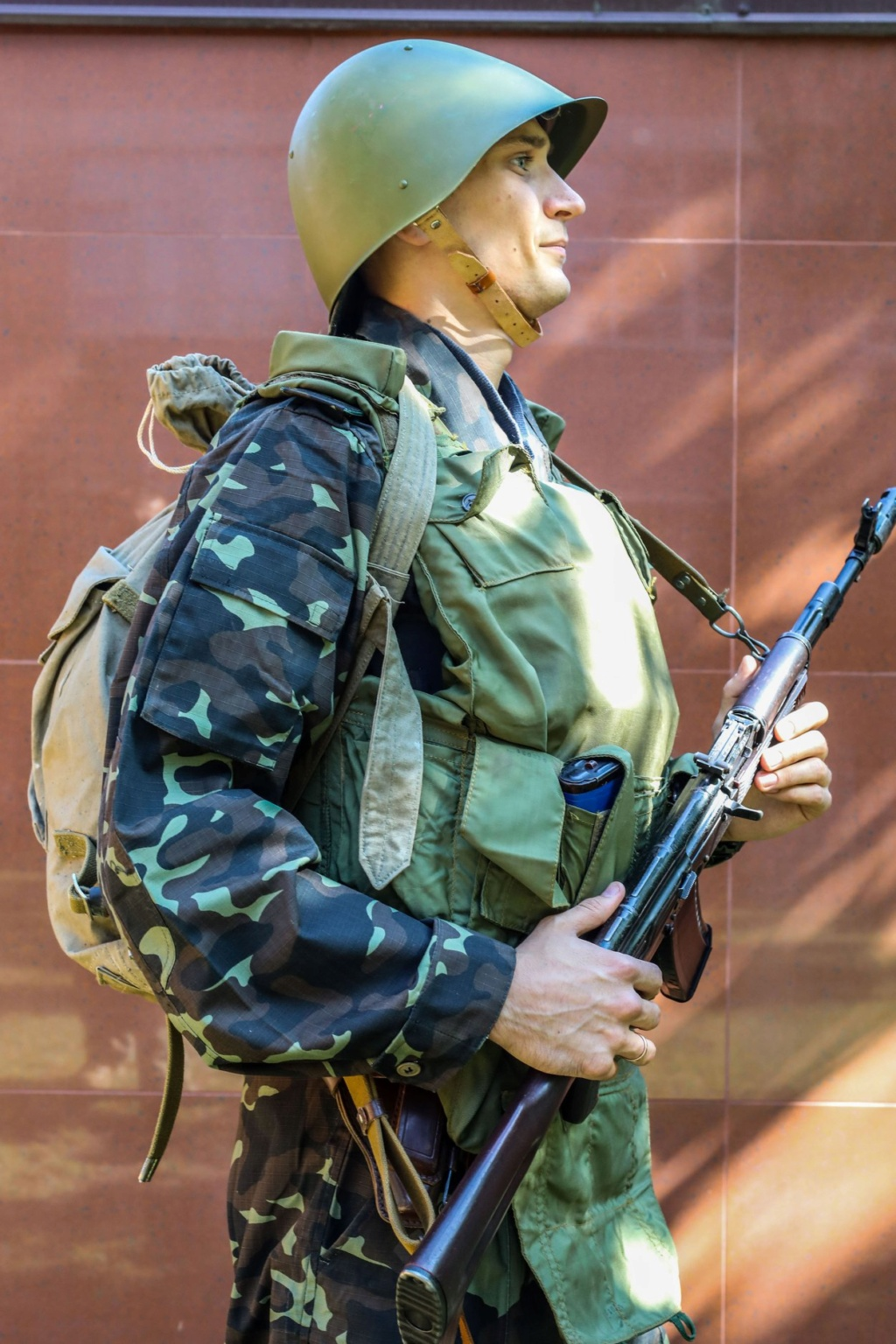 Modern Ukrainian uniform in photographs 39928610