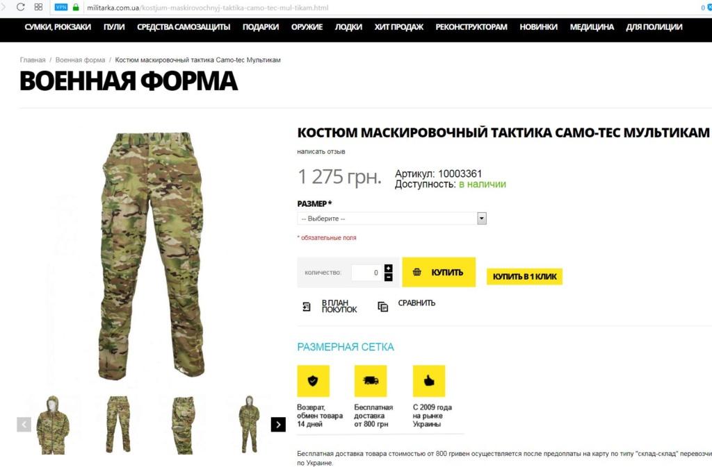 Modern Ukrainian uniform in photographs Camo-t12