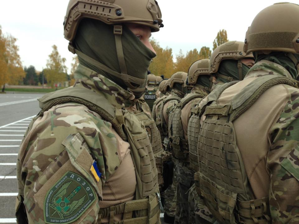 Modern Ukrainian uniform in photographs - Page 30 Dozor110