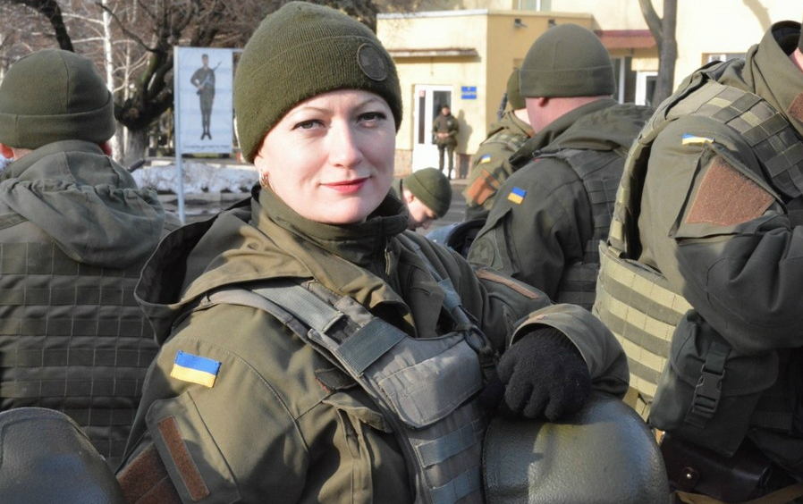 Modern Ukrainian uniform in photographs - Page 14 Oe10
