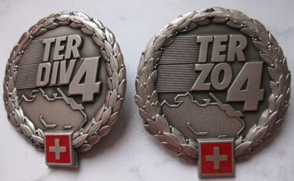 Ranks, badges, patches, epaulets of the Swiss Armed Forces - Page 6 Ter-4-10
