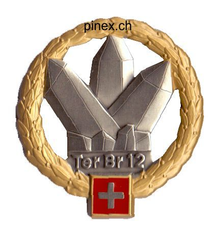 Ranks, badges, patches, epaulets of the Swiss Armed Forces - Page 6 Territ12