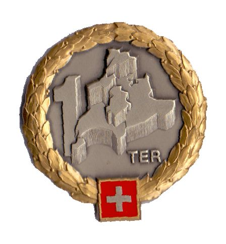 Ranks, badges, patches, epaulets of the Swiss Armed Forces - Page 6 Territ13