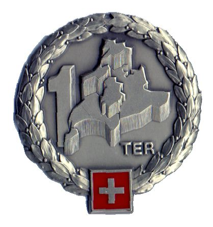 Ranks, badges, patches, epaulets of the Swiss Armed Forces - Page 6 Territ14