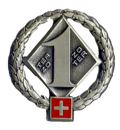 Ranks, badges, patches, epaulets of the Swiss Armed Forces - Page 6 Territ18