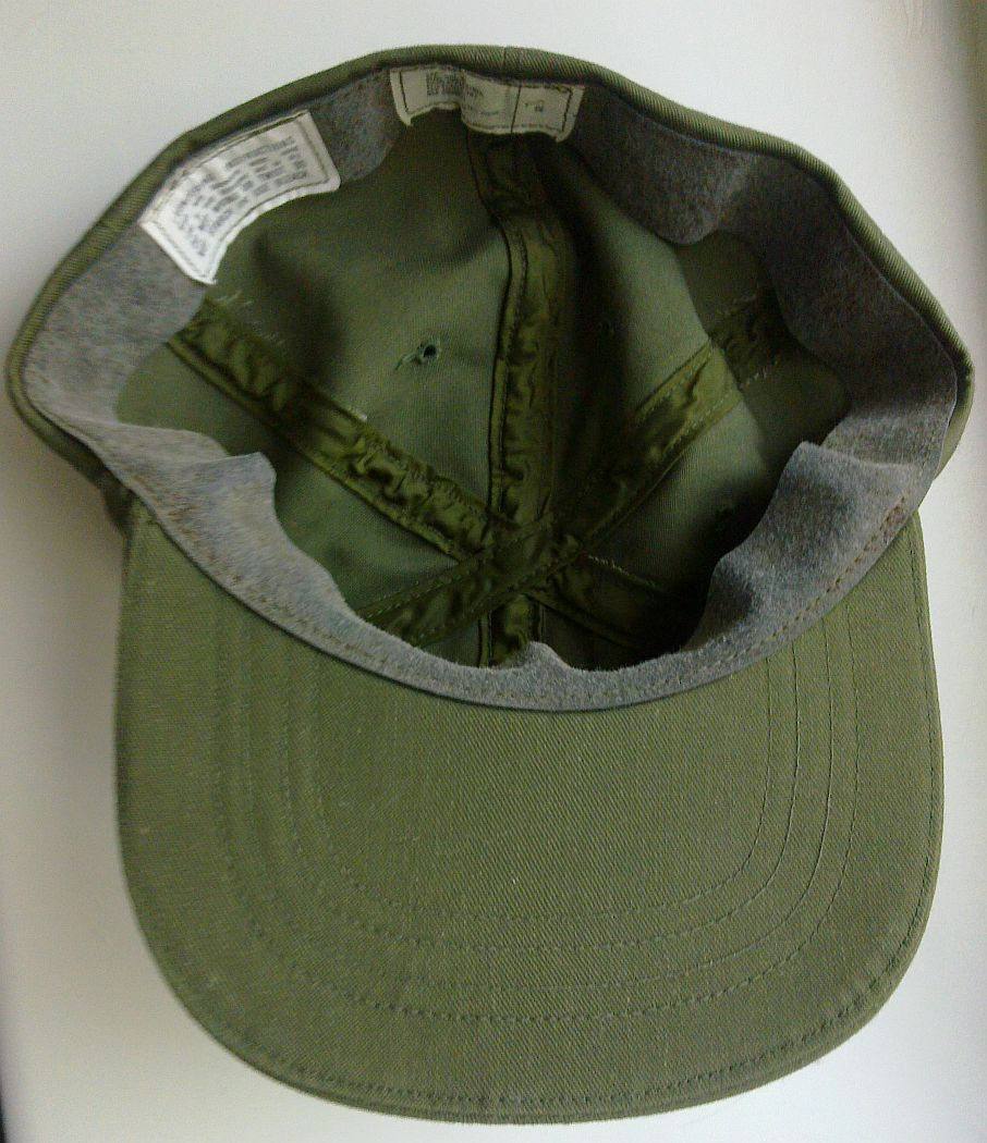1987 dated US Army cap, hot weather, OG 507 Us_arm13