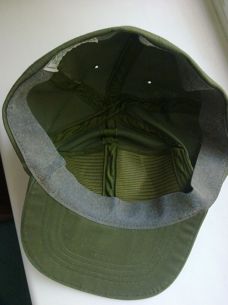 1987 dated US Army cap, hot weather, OG 507 Us_arm14