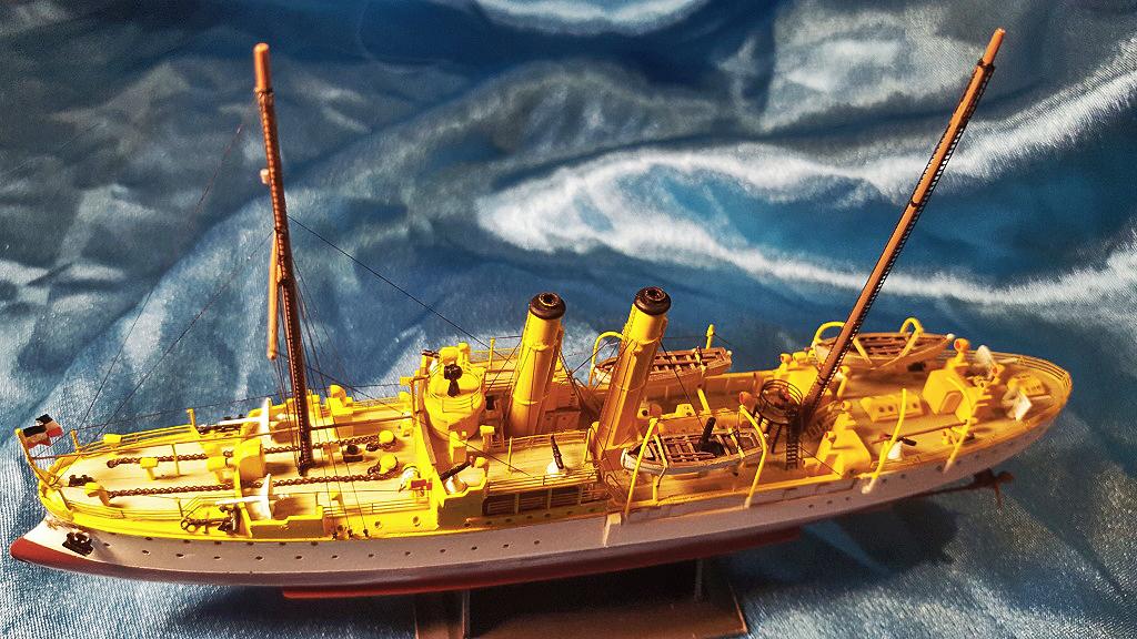 canonnière SMS Iltis 1898 scratch 1/350 - Page 5 20191012
