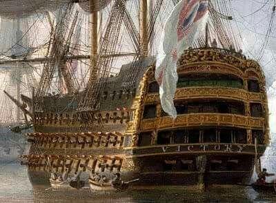 victory - VICTORY 1737 - éch 1/84 - inspiré du Victory 1737-1744 933e8511
