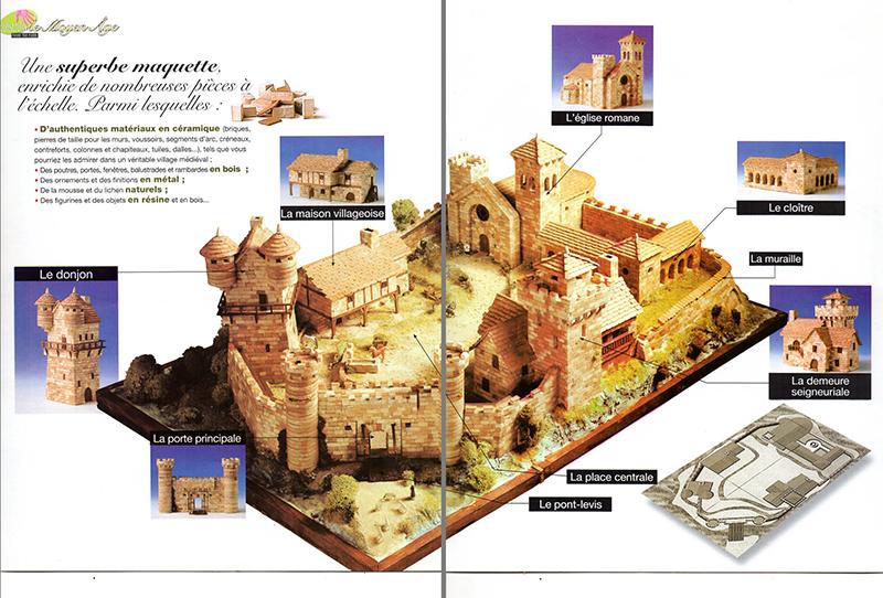 Village médiéval fortifié Double11