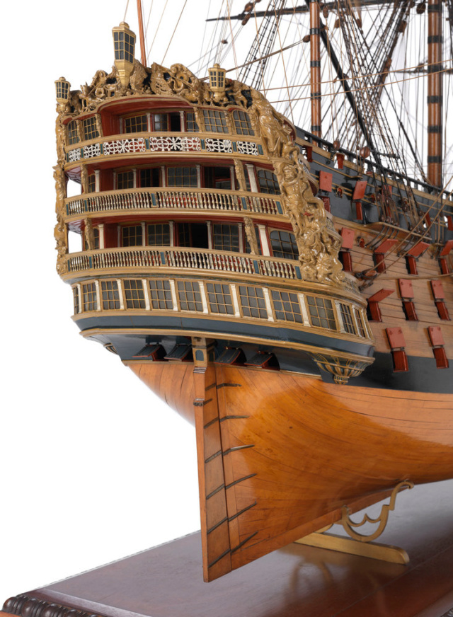 victory - VICTORY 1737 - éch 1/84 - inspiré du Victory 1737-1744 L3241-10
