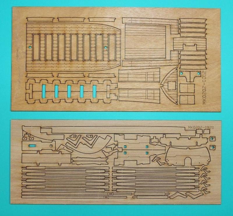 Canonnière 1801 - éch1/72 - Master Korabel  Mk020213