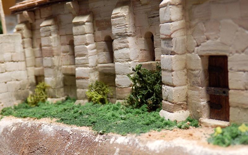 Village médiéval fortifié 14è- bastide - éch1:87 P1140020