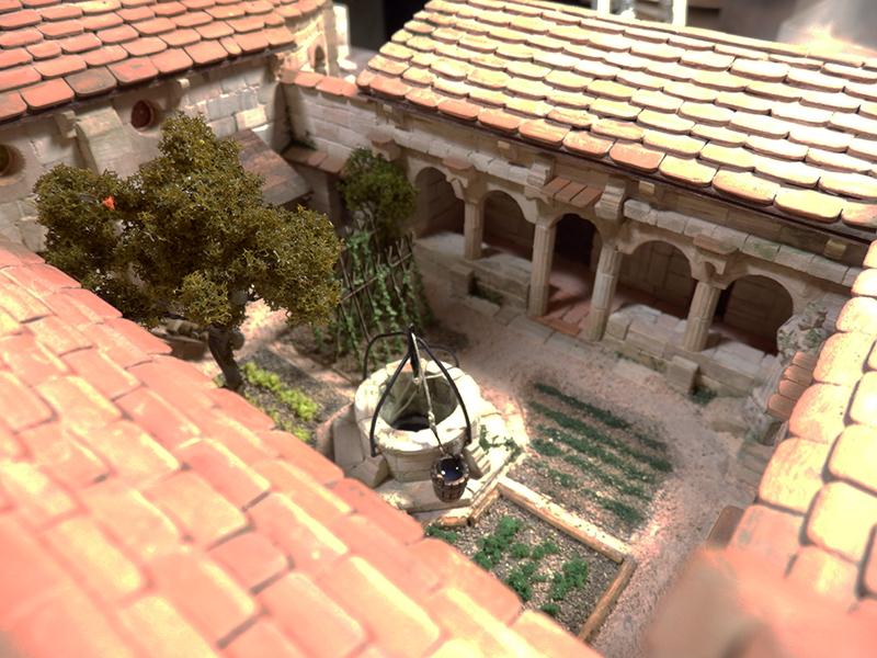 Village médiéval fortifié 14è- bastide - éch1:87 P1140021