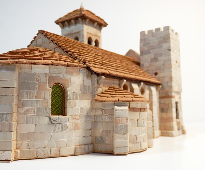 Village médiéval fortifié 14è- bastide - éch1:87 P1200034