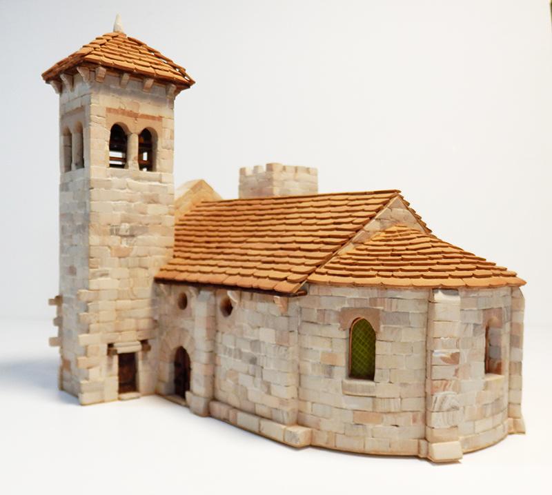 Village médiéval fortifié 14è- bastide - éch1:87 P1200037